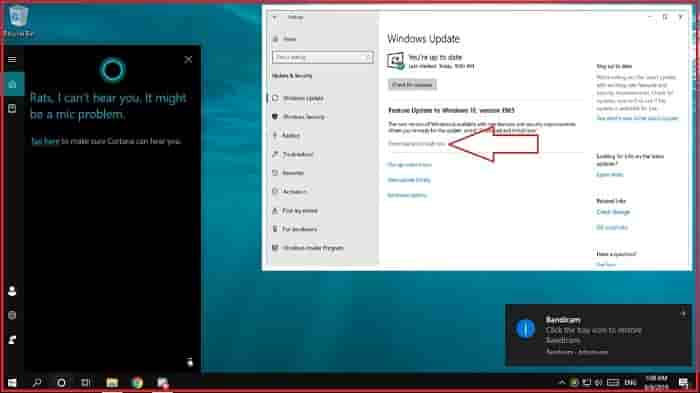 Review- Microsoft windows 10 update to version 1903